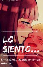 Lo Siento... [NaruHina] [One-Shot] #NarutoAwards by Cam_Sama