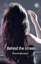 Behind the screen   bangtanvelvet by forevelarmy