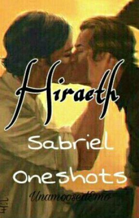 Hiraeth: Sabriel Oneshots by UnamoosedEmo