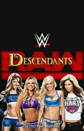 WWE Descendants:(WWE Fanfic). by maryse_0uellet