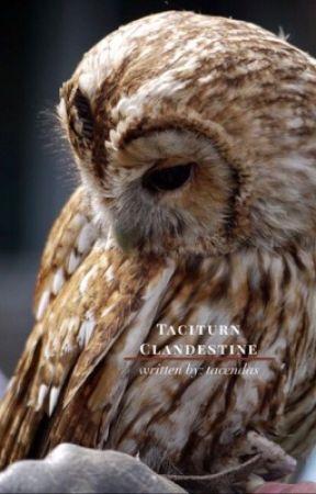 TACITURN CLANDESTINE ▷ REMUS LUPIN by tacendas
