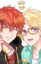 Joystick [[707xYoosung]] (yaoi) Mystic Messenger fun by UltimateGaylien
