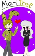 [JUST ONE HEAVILY-EDITED CHAPTER] SpringTrap x Marionette (Human AU) by PurpleChimera