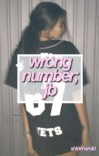 wrong number ; jb by shineharold