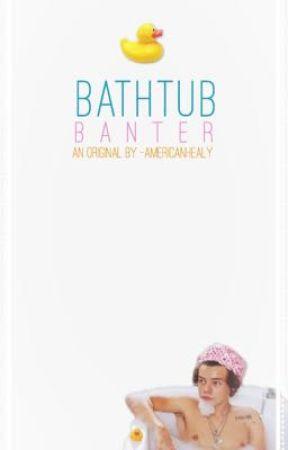 bathtub banter ♕ l.s [mpreg!] by -guccigangstyles