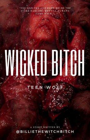 Wicked Bitch - [Derek Hale] by billiethewitchbitch