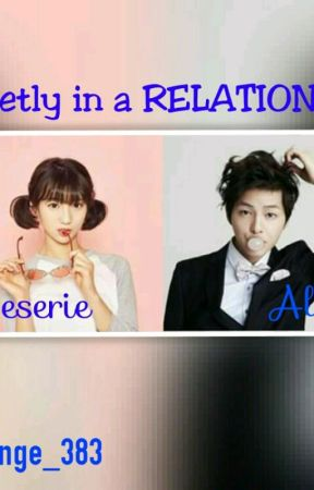 Secretly in a RELATIONSHIP by black_angelic