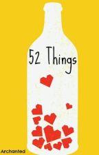 52 Things by switchingaccountss