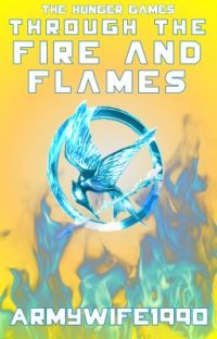 The Hunger Games - Through the Fire and Flames - Book 1 cover