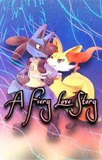 Lucario and Braixen- A Fiery Love Story by Pokemonfan472