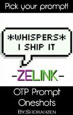 OTP Prompt Oneshots; Zelink (The Legend of Zelda)  by Inastaria