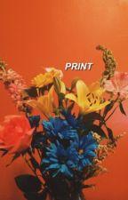 print.   negan by morganzed