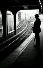 The Man at The Station by blacksoulgh0ul