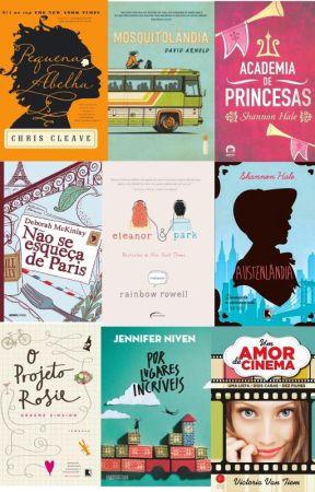 livros que tu tem q ler !!! by Senhoranutellinha