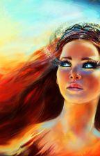 בת הרי הגעש\The girl of Volcano by sunset613