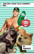 John Cena X Veggie Tales X Harambe X doge by ParasFrince
