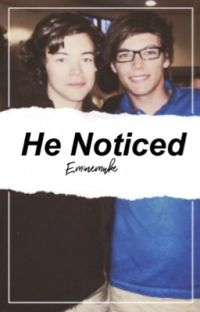 He Noticed || Larry au cover