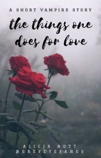 The Things One Does For Love cover