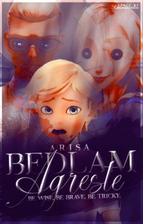 Bedlam Agreste | A Miraculous Ladybug Fanfiction by princessallura
