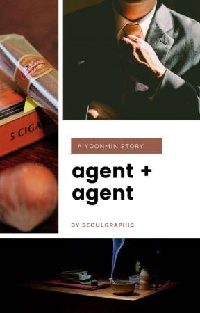 agent & agent ; p.jm + m.yg  by seoulgraphic