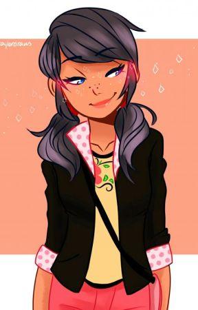 Shy Yet Confident (Marinette/Ladybug x Shy!OC!Miraculous User) by BlueStorm101