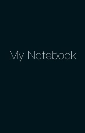 My Notebook by Hailstorm_2004