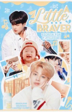 A Little Braver x jikook mpreg x by pjmwishes