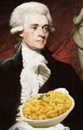 Thomas Jefferson X Mac N Cheese by Milohhhh