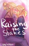 Raising the Stakes; Zelink Coffee Shop AU (The Legend Of Zelda) cover