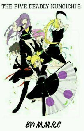 The Five Deadly Kunoichi by Mxnique_-