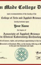 Fake International high school Diploma | International College Diploma by customdiploma