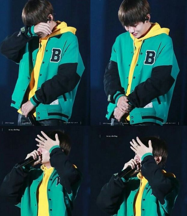 NOVEMBER 19 2016BTS's V surprised fans when he shared news of his Grandmother's passing during BTS 3rd Muster show