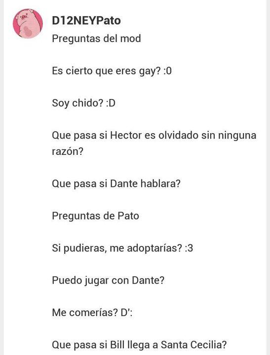 Pregunta A Miguel Rivera D 3 3 Wattpad