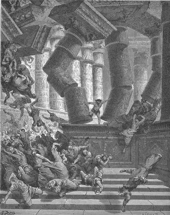 [legenda: The Death of Samson (Jud