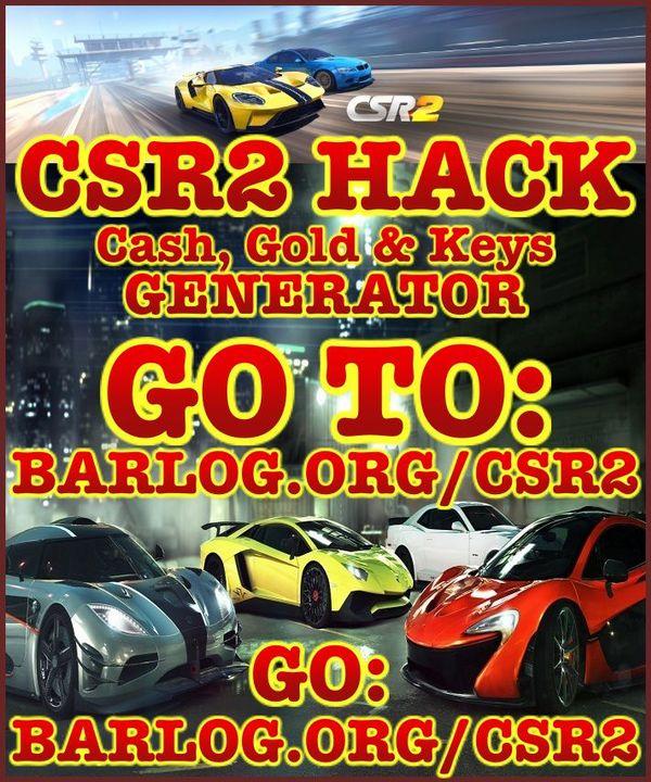 CSR2 Cheats Hack Tool - Unlimited Gold, Cash & Keys