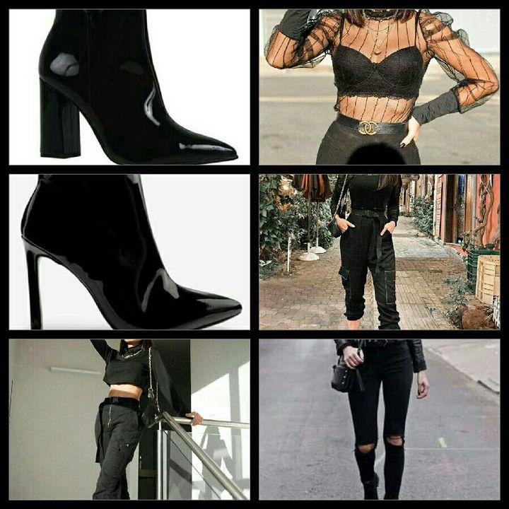 Esse será basicamente o estilo da Any na fic, em cada look seu, tem que ter uma bota, vocês vão entender depois