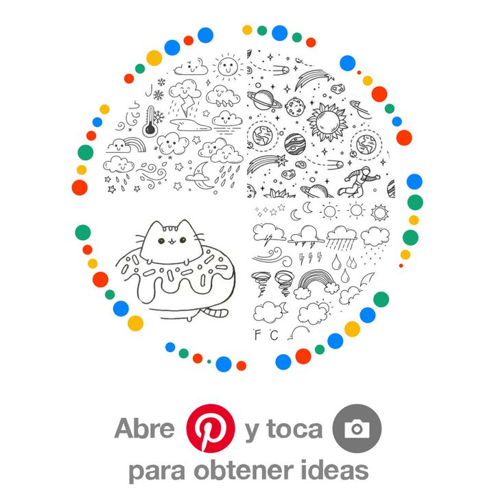 tablero con ideas para colorear uwu: