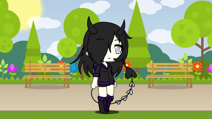 This is my friend Stargazer_RoMeave in Gacha Life