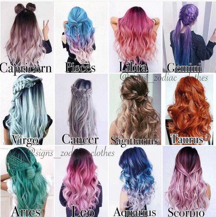 Zodiacs Completed Hair Dye Wattpad