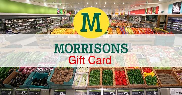 Get a Free Morrisons Gift Card - https://morrisonsgiftvouchers