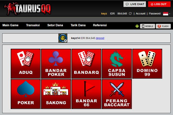 Situs Poker Online Taurusqq memang sangat mengutamakan kenyamanan dan keamanan para membernya dengan memberikan segala layanan dan fasilitas terbaik