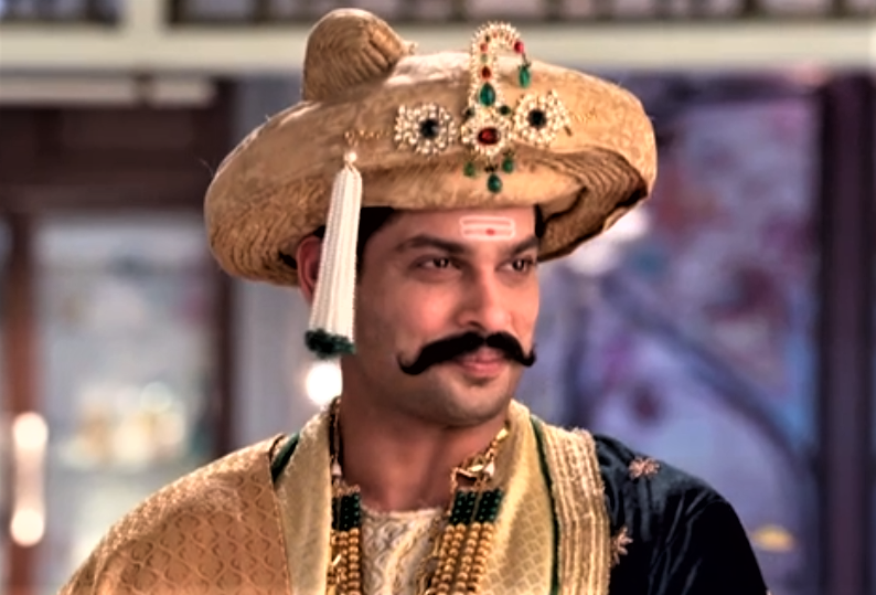 Though Avni gets uncomfortable seeing his stare, she smirked