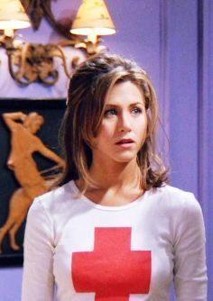 Miss Steadman as Jennifer Aniston: (teacher)