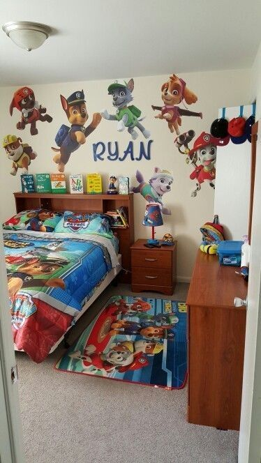Did I forget to mention he has a paw patrol addiction