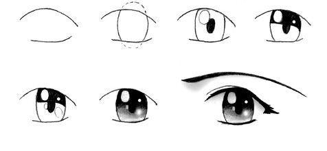 Quieres ideas de colores de ojos pues por aquí dejo algunos ojos: