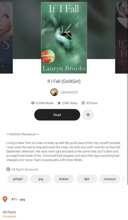 This was my first one on wattpad